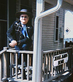 Lonesome Ron at Jesse James House House - St Joseph, Missouri